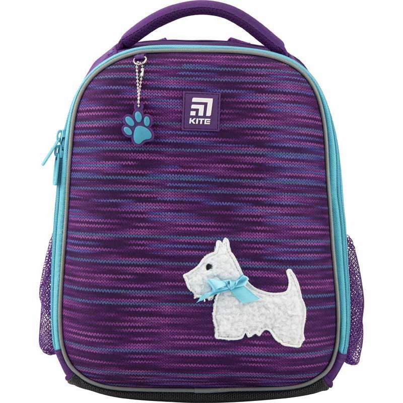Рюкзак школьный каркасный Kite Education Cute puppy Фиолетовый K20-555S-3