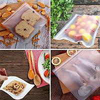 Многоразовый маленький силиконовый пакет для хранения продуктов в холодильнике