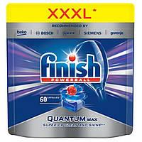 Таблетки для посудомоечной машины Finish Quantum max Super Charged 60 шт.