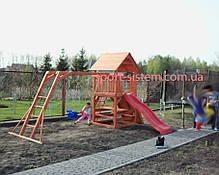 """Ігровий дитячий майданчик """"Мульти"""" з гіркою і гойдалками, фото 2"""