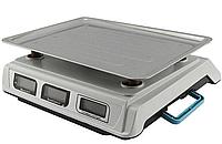 Торговые электронные весы Crownberg CB 5006 до 50 кг с тремя дисплеями, фото 2