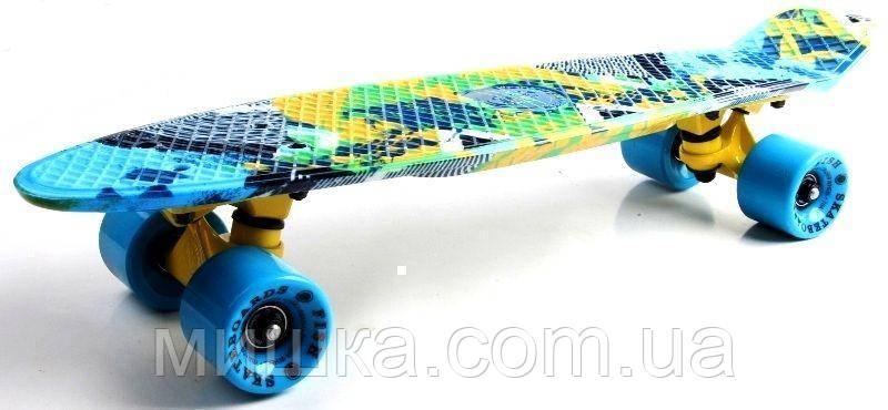 """Пенниборд 22"""" Original Skateboards CAMEL"""