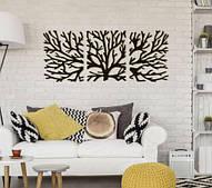 Декоративне металеве три панно Дерево Життя