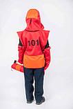 Костюм Пожарный (шлем, жилет, рукавички, огнетушитель) 3-7 л. (012), фото 3
