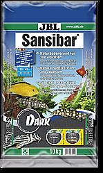 Пісок JBL Sansibar Dark 0.2-0.5 мм 10 кг чорний