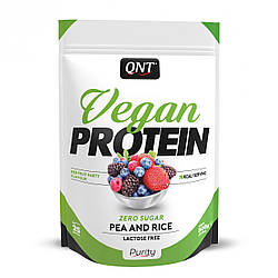 QNT_Vegan Protein 500 г - red fruit party