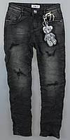 Джинсовые брюки для девочек S&D оптом, 6-16 лет., фото 1