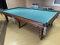 Бильярдный стол + 4 кия + подставка под шары / шары
