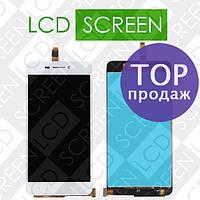 Дисплей для Vivo X3 X3t с сенсорным экраном, белый, модуль, дисплей + тачскрин