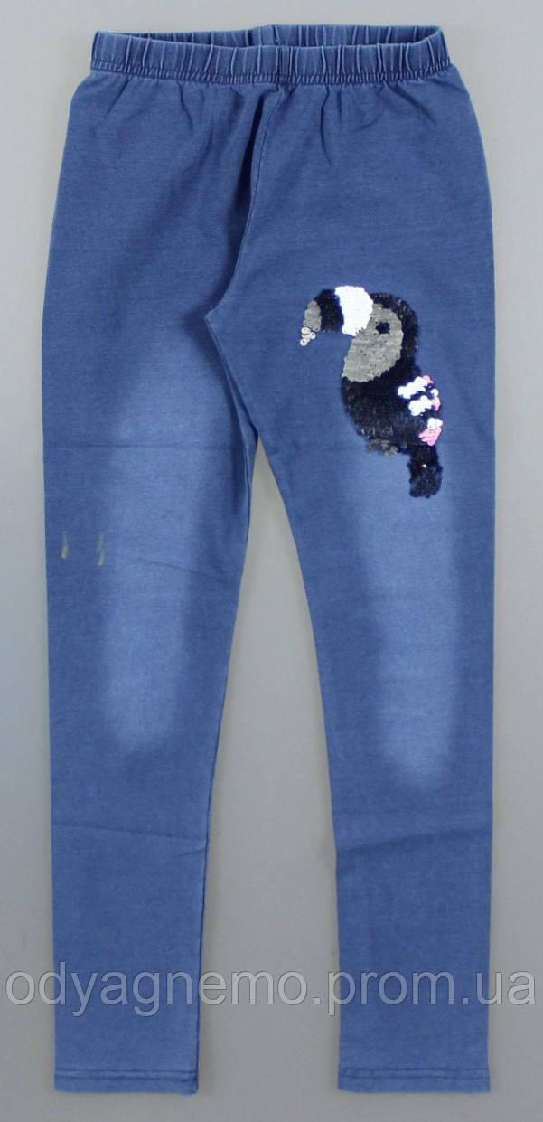 Лосини з імітацією джинси для дівчаток Sincere оптом, 134-164 pp. Артикул: LL2628