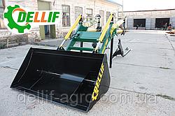 Ківш 1.8 метра для фронтальних навантажувачів Dellif на трактор МТЗ,ЮМЗ, Т-40