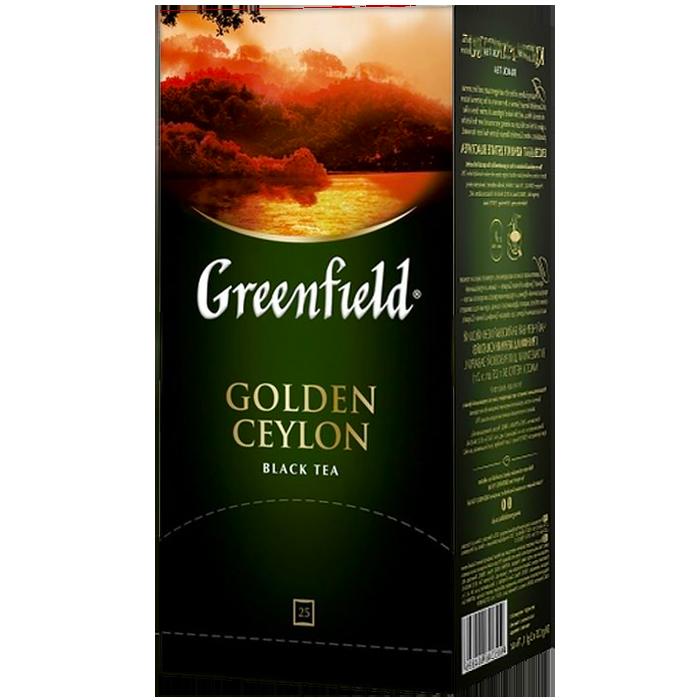 """Чай пакетированный черный Greenfield """"Golden Ceylon"""" 25шт"""