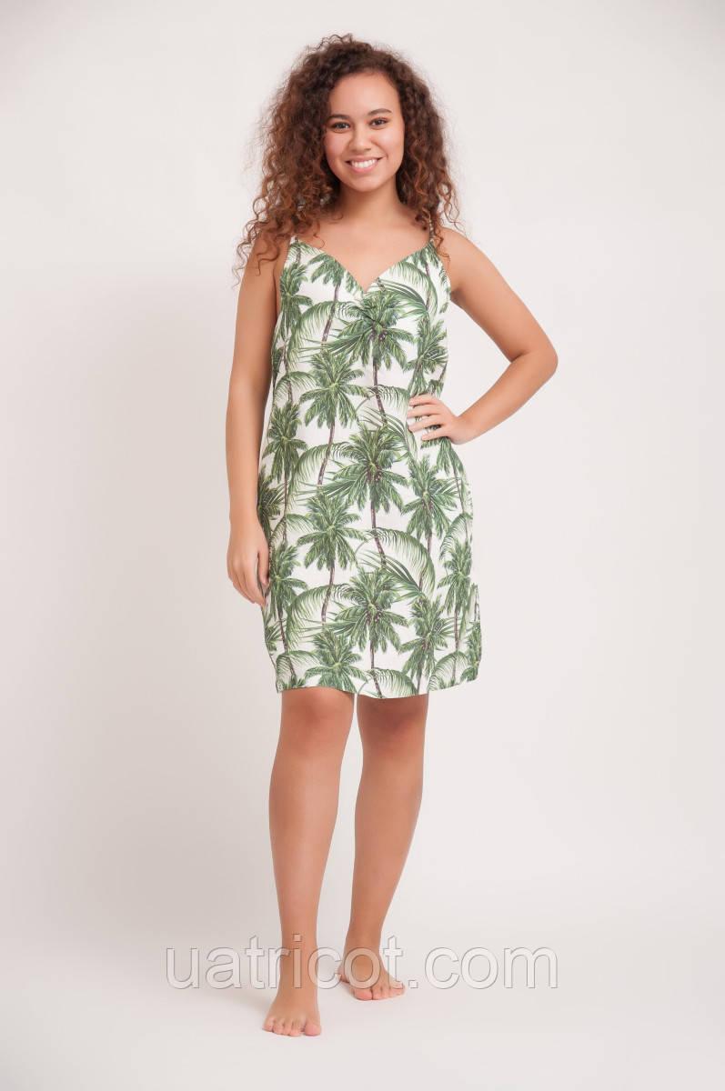 Сарафан женский KIFA СЖ-19/504 пальмы