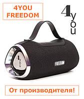 Портативная колонка 4YOU FREEDOM (IPX4, 10W, 1500mah, эксклюз. дизайн, гарантия 12мес) Black