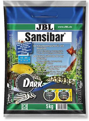 Пісок JBL Sansibar Dark 0.2-0.5 мм 5 кг чорний, 67050, фото 2