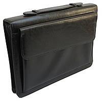 Папка-портфель из искусственной кожи JPB Черный (AK-19)