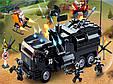 """Конструктор SLUBAN M38-B0773 """"Мобильный полицейский фургон SWAT"""" 759 деталей, фото 2"""