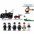 """Конструктор SLUBAN M38-B0773 """"Мобильный полицейский фургон SWAT"""" 759 деталей, фото 4"""