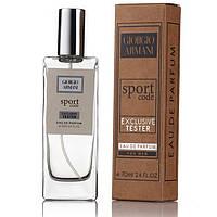 Giorgio Armani Code Sport EDP 70ml TESTER (парфюмированная вода Джорджио Армани Код Спорт тестер)