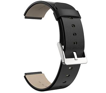 Кожаный ремешок Primo Mijobsдля смарт часов Xiaomi Mi Watch - Black