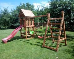 """Дитячий ігровий комплекс з дерева """"Промо"""""""
