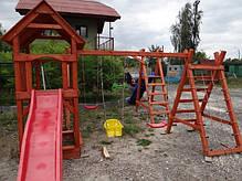 """Детский игровой комплекс из дерева """"Промо"""", фото 2"""