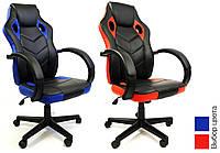 Кресло офисное компьютерное игровое 7F RACER EVO геймерское (офісне крісло комп'ютерне геймерське), фото 1