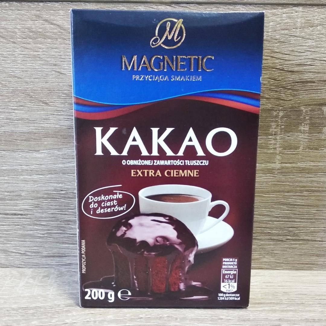Magnetic Extra Ciemne натуральне какао 200 гр.