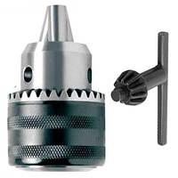 Патрон для дрилі з ключем 1.5-13 мм, WERK (33994)