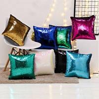 Подушка Антистрессовая с пайетками меняющая цвет