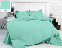 Однотонное постельное белье MirSon бязь Mint 11-2208 Полуторный комплект