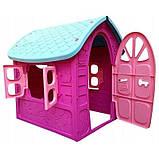 Дитячий ігровий будиночок Dorex для дівчинки (рожевий), фото 2