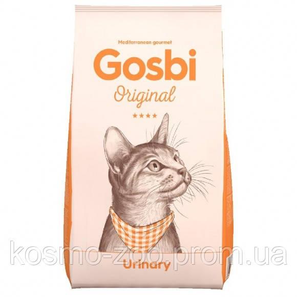 Сухой корм для котов Gosbi Original Urinary Cat с курицей, 7 кг