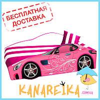 Детская кровать для девочки Pink Elite в 2 цветах