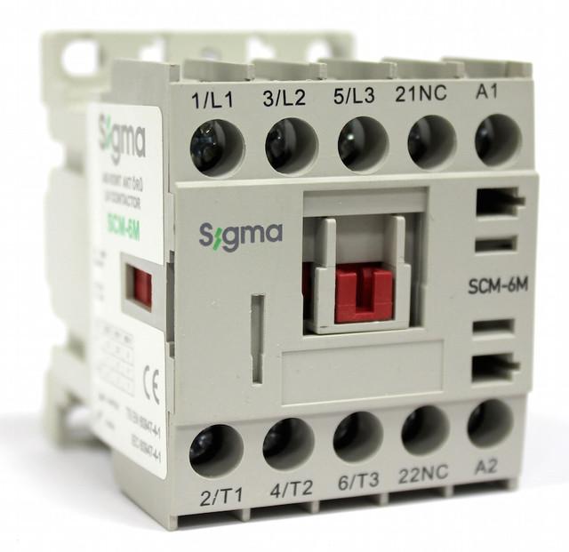 миниконтактор пускатель минипускатель электромагнитный сигма scm sigma