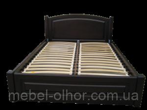 Кровать из дерева Верона (1.6*2) в белой эмали