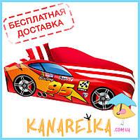Детская кровать машина гоночная 95 Elite в 3 цветах (комплект входит в стоимость, доставка бесплатная!)