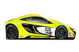 Кровать машина McLaren машинка серии Бренд Макларен скоростной, фото 9