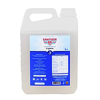 Антисептик для рук жидкий 5 литров ТМ Sanitizer этиловый спирт 70%