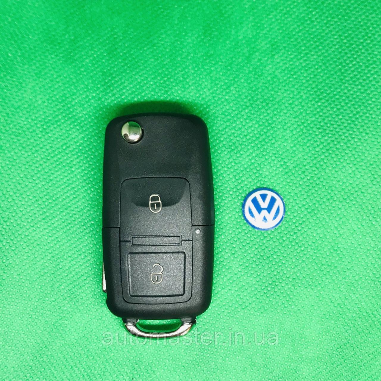 Корпус выкидного авто ключа VOLKSWAGEN Golf, Polo, Transporter (Фольксваген Гольф, Поло,Транспортер) 2- кнопки
