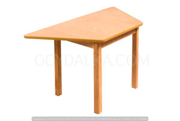 Стол трапецеевидний (450 * 900)