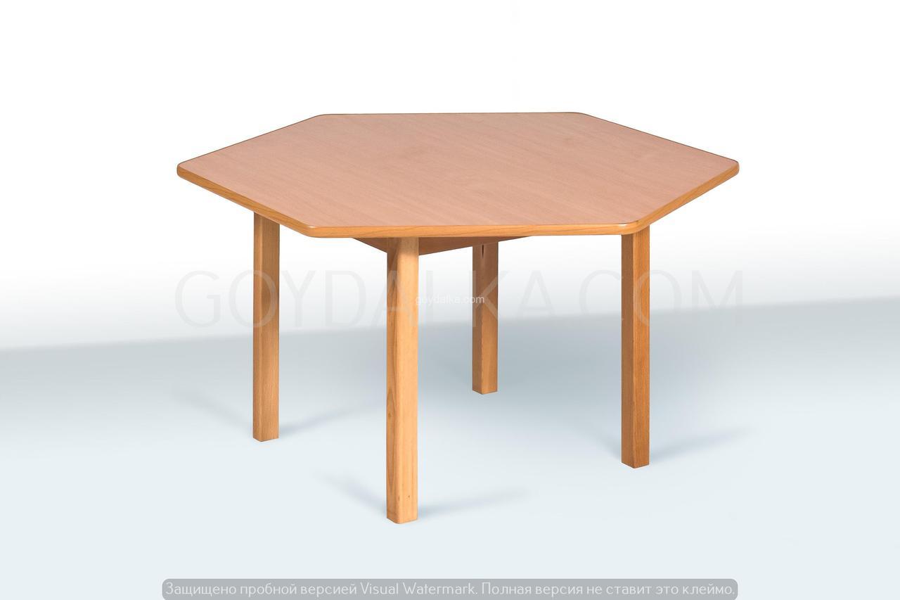 Стол шестиместный (500/445/565 * 950 * 1050)