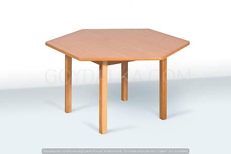Стол шестиместный (500/445/565 * 950 * 1050), фото 2