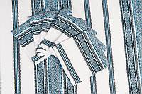 Комплект столовий(скатертина+6 серветок) голубий