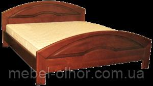 Кровать из массива Кармен-2 белая 160*200