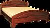 Кровать из массива Кармен-2