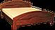 Кровать из натурального дерева Кармен 200*200, фото 2