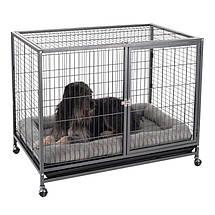 Металлический манеж-клетка для собак, щенков, фото 2