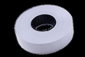 Ценник Buromax 16x23 мм (600 шт), вертикальный, прямоугольный, белый