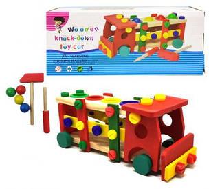 """Машинка конструктор для детей """"Wooden Toy Car"""""""